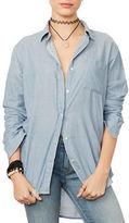 Denim & Supply Ralph Lauren Solid Boyfriend Shirt