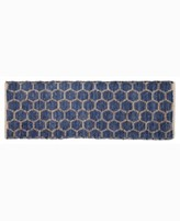 """Thumbnail for your product : Home Weavers Beehive Modern Accent 24"""" x 72"""" Rug Bedding"""