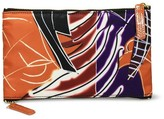 Sonia Kashuk Cosmetic Bag 2-Zip Purse Kit Artwork