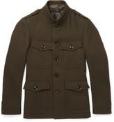 Tom Ford - Slim-fit Wool-felt Field Jacket