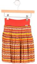 Junior Gaultier Girls' Printed Maxi Skirt
