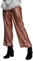 Free People Women's Just A Dreamer Sequin Crop Pants