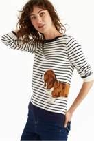 Joules Basset Hound Sweater