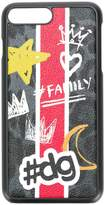 Dolce & Gabbana hashtag family printed iPhone 7 Plus case