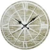 Very Hometime Glass Star Design Wall Clock