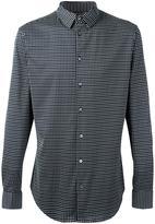 Giorgio Armani diamond pattern shirt - men - Cotton - 45