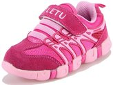 DADAWEN Boy's Girl's Sneakers Sport Running Shoes - 4 US