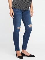 Old Navy Maternity Side-Panel Rockstar Jeans