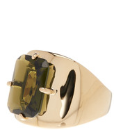 Cole Haan Emerald Stone Ring - Size 8