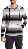 Public Opinion Long Sleeve Stripe Knit Hoodie