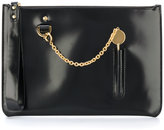 Sophie Hulme Cocktail Stirrer clutch - women - Leather - One Size