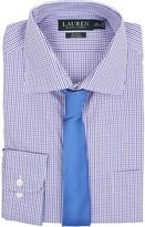 Lauren Ralph Lauren Check Spread Collar Slim Shirt