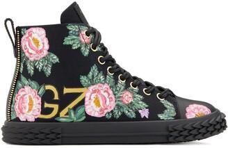 Giuseppe Zanotti Blabber floral high-top sneakers