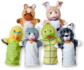 Melissa & Doug Pet Buddies Hand Puppets Set
