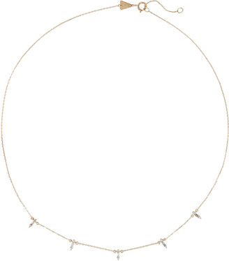 Adina Stack Baguette Chain Necklace