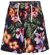 Hackett Navy Floral Swim Shorts
