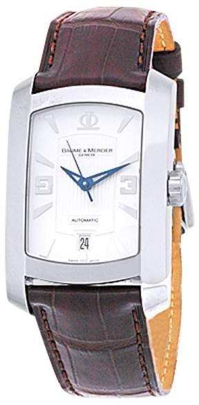 "Baume & Mercier Hampton Milleis XL"" Stainless Steel Strap Mens Watch"
