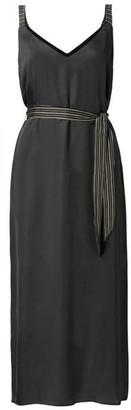Ya-Ya Black Maxi Strap Dress - EU34 UK6