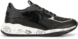 Premiata Printed Low Top Sneakers