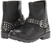 Steve Madden Frankee (Toddler/Youth) (Black) - Footwear