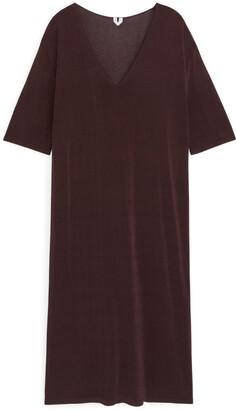 Arket Sheer Knit Dress