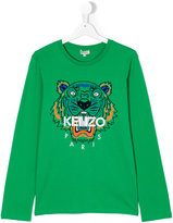 Kenzo Teen Tiger T-shirt - kids - Cotton - 14 yrs