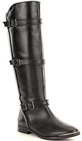 Gianni Bini Davvy Buckled Detail Riding Boots