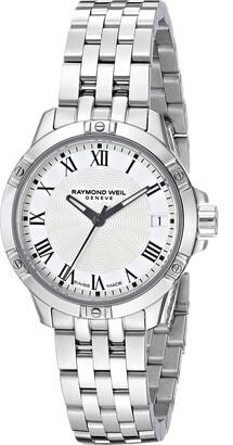 Raymond Weil Women's 5960-ST-00300 Tango Analog Display Quartz Silver Watch