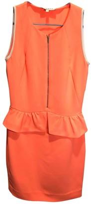 Sandro Spring Summer 2019 Orange Synthetic Dresses