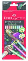 Faber-Castell Metallic Colored EcoPencils, 12ct