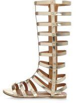 River Island Girls gold gladiator sandals