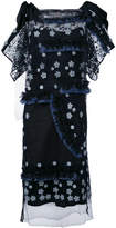 Antonio Marras fringed floral dress