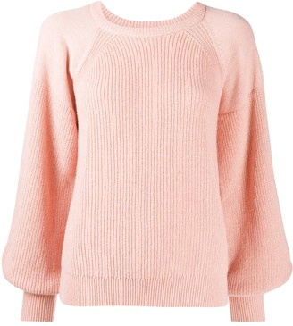 RED Valentino Puff-Sleeve Raglan Jumper