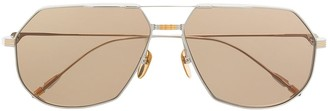 Jacques Marie Mage Reynold tinted aviator sunglasses