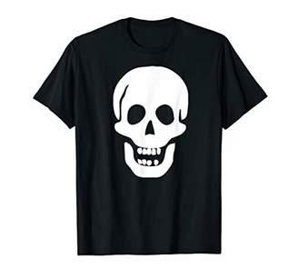 Funny Skull Smiley Skeleton Face T-Shirt