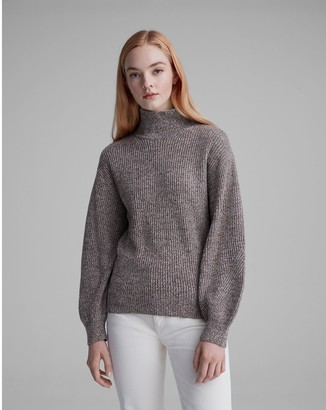 Club Monaco Rib Turtleneck Sweater