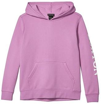 Burton Elite Pullover Hoodie (Little Kids/Big Kids) (True Black) Kid's Clothing