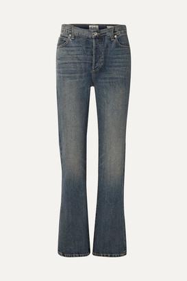 Eve Denim Juliette High-rise Straight-leg Jeans - Mid denim