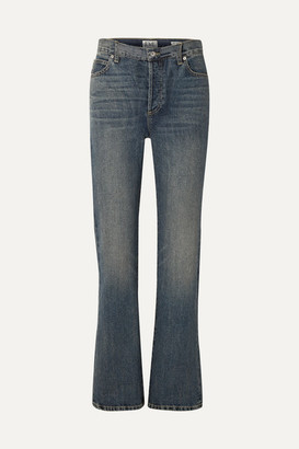 Eve Denim Juliette High-rise Straight-leg Jeans - Mid denim
