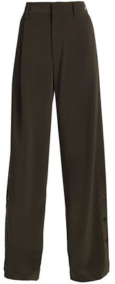 Co Side Slit Trousers