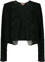 Ermanno Scervino lace trimmed cardigan