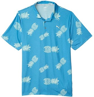 Puma Sweetness Polo (Ibiza Blue) Men's Clothing