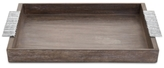 Michael Aram Joshua Tree Collection Nickelplate & Wood Serving Tray