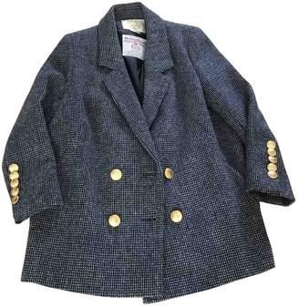 Sara Berman \N Navy Wool Coat for Women