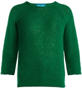 MiH Jeans Bowen round-neck mohair-blend sweater