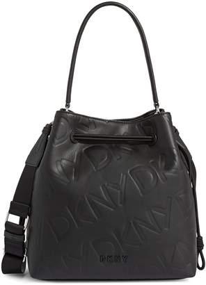 DKNY Jude Drawstring Bucket Bag