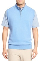 Peter Millar Men's Zip Front Fleece Vest
