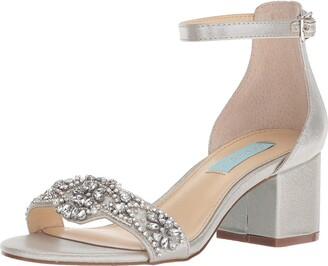 Betsey Johnson Blue Women's SB-Mel Heeled Sandal