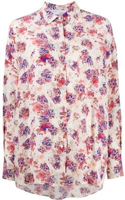 IRO Floral-Print Longsleeved Blouse