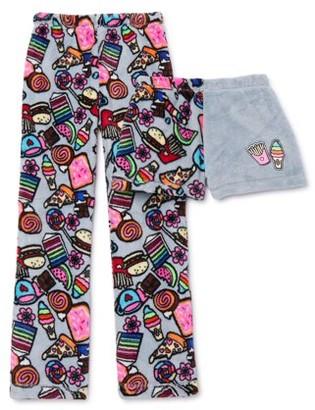 Peace, Love & Dreams Girls Plush 2-Piece Pajama Set XS-L